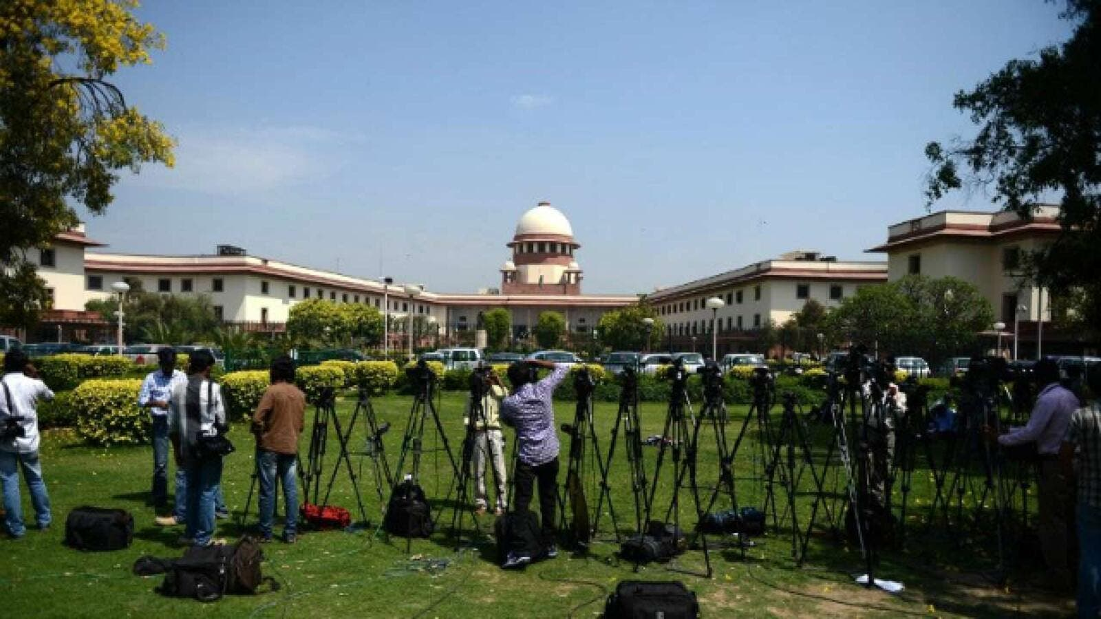Media have closely covered the India's Supreme Court (AFP/File Photo)