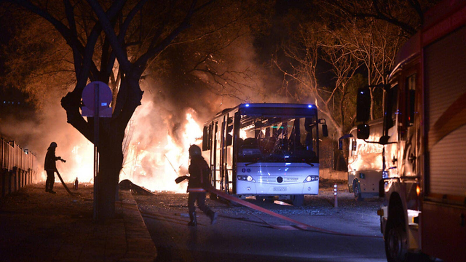 Scene of explosion in Ankara, Turkey. (AFP/File)