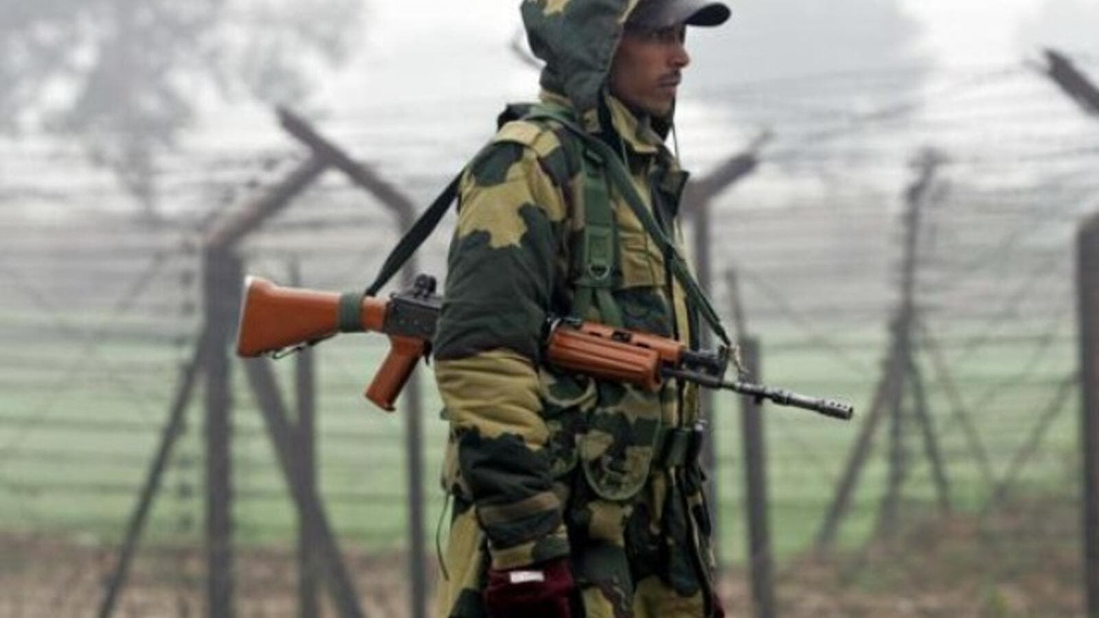 Indian soldier stanging guard (AFP/File Photo)
