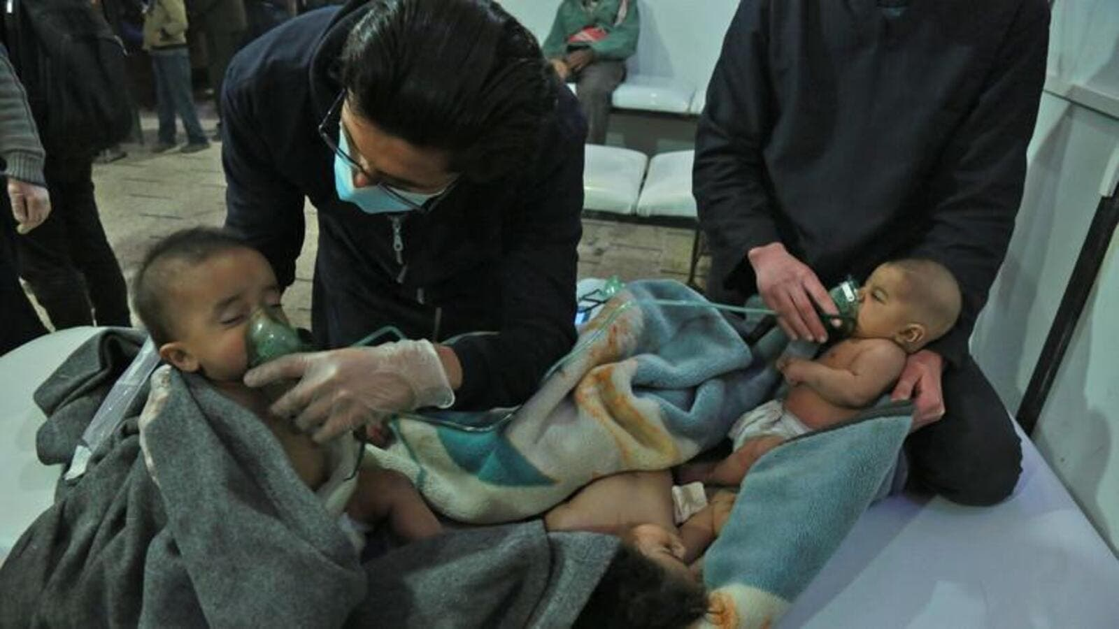 "The Organization for the Prohibition of Chemical Weapons found ""reasonable grounds"" that chlorine was used as a weapon in the Douma district. (AFP/ File)"
