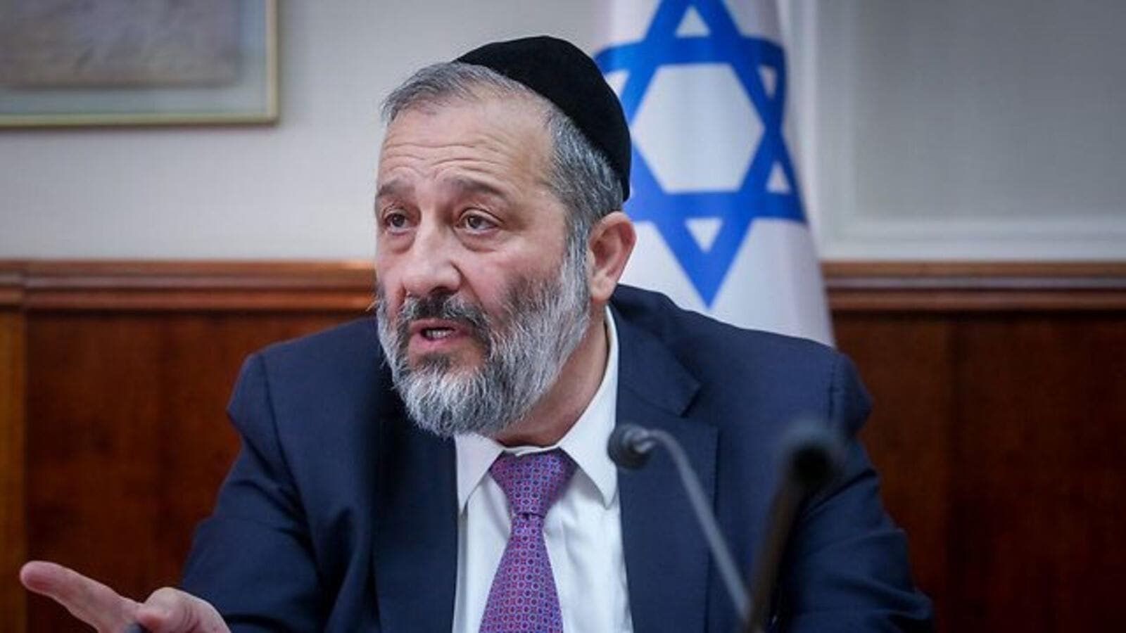 Interior Minister Aryeh Deri claims he had banned the entry of Dublin Mayor Mícheál Mac Donncha into Israel due to the latter's long-standing activism in the BDS movement (AFP/File Photo)