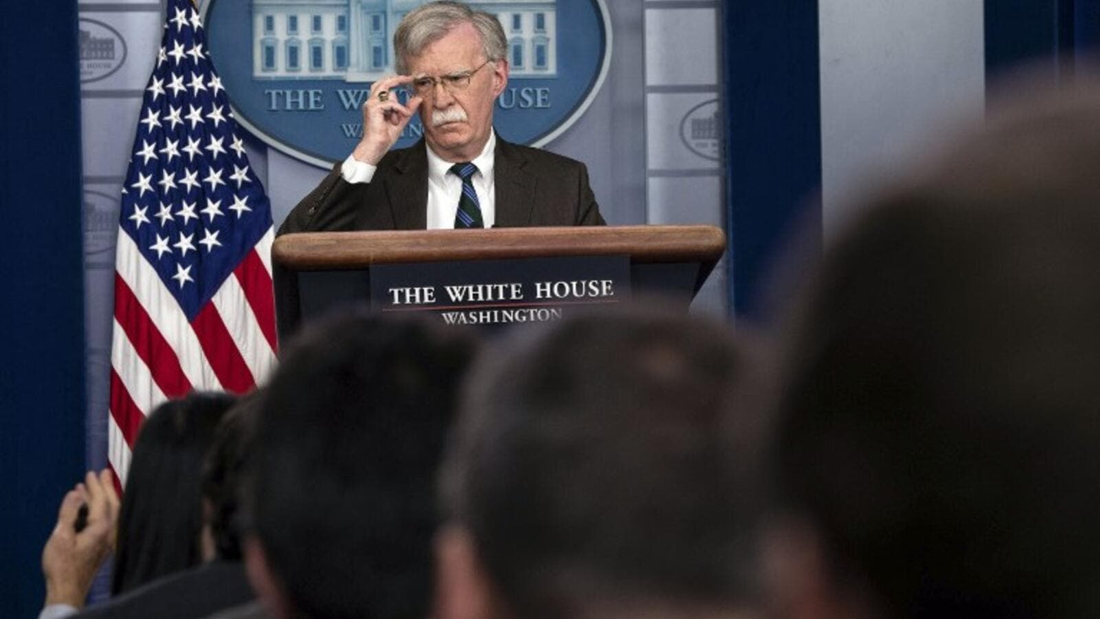 US National Security Advisor John Bolton (AFP)