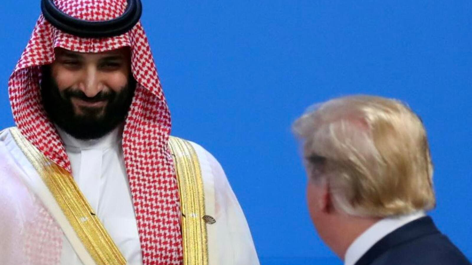 Trump says he supports Crown Prince Mohammed bin Salman (Twitter)