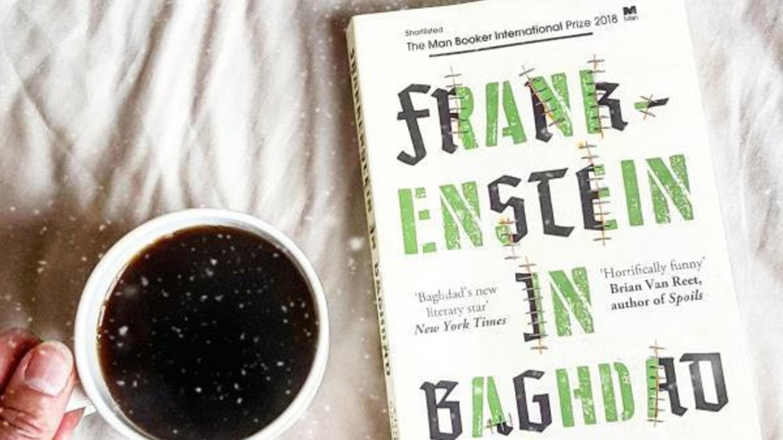 Frankenstein in Baghdad: Capturing the dark reality of war with black humor (Twitter)