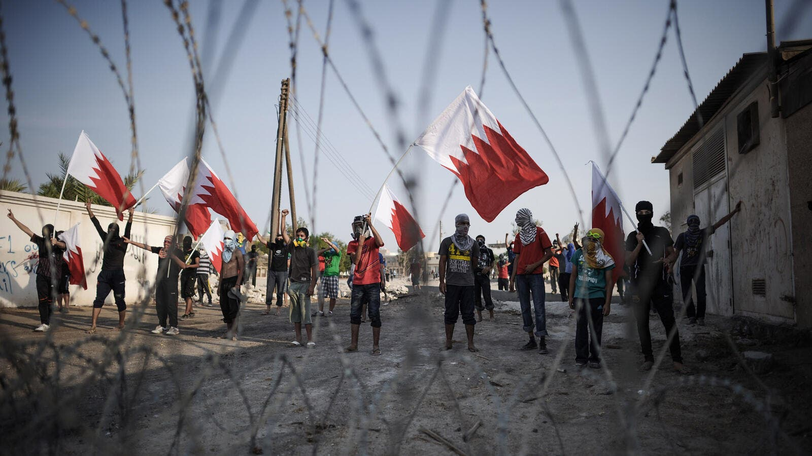 Protests have swept Bahrain in the past – but is Israel a hot topic in the Kingdom? (AFP/File)