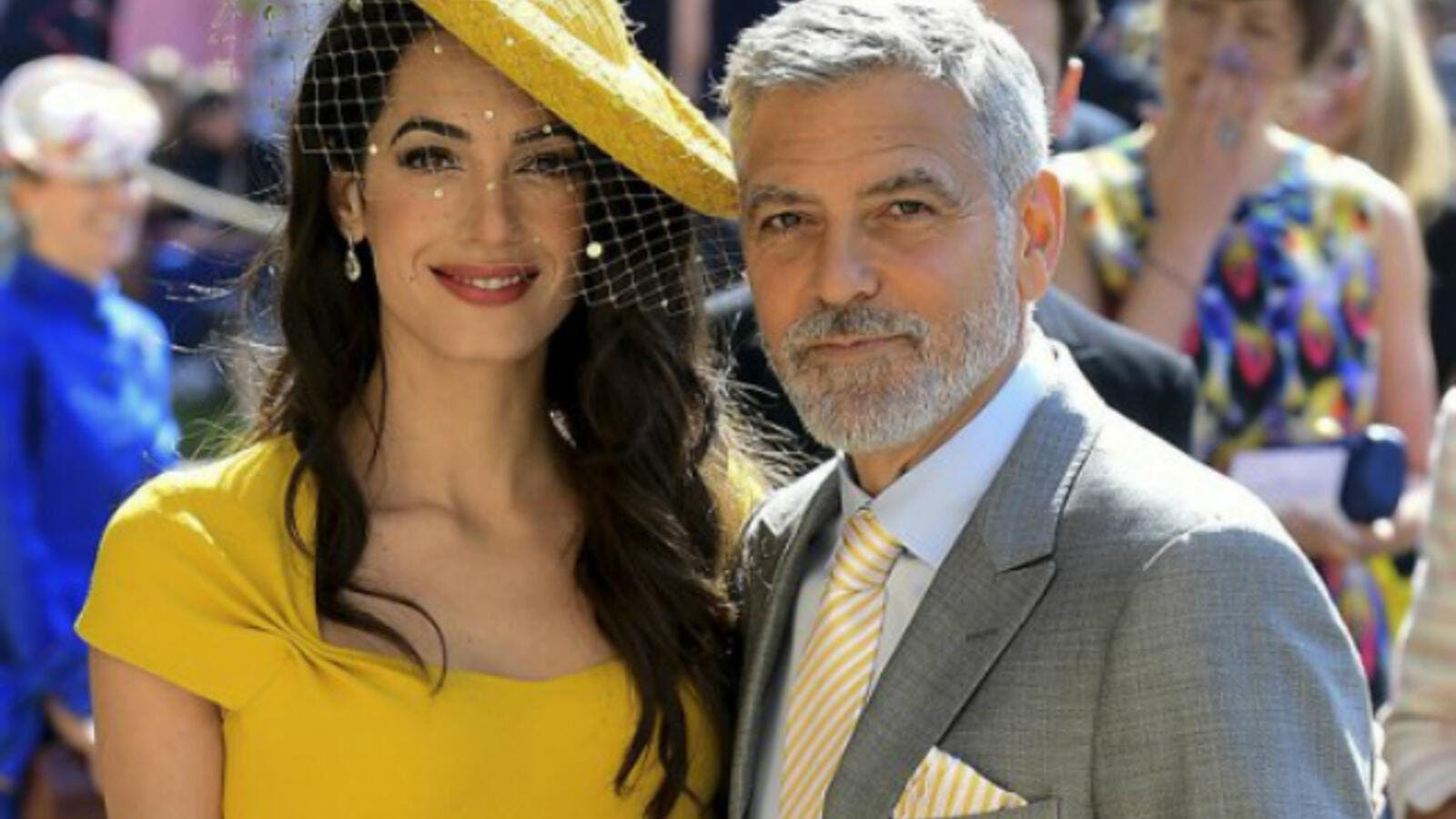 Amal Clooney Royal Wedding.This Is What Amal Alamuddin And Husband George Clooney Did At The