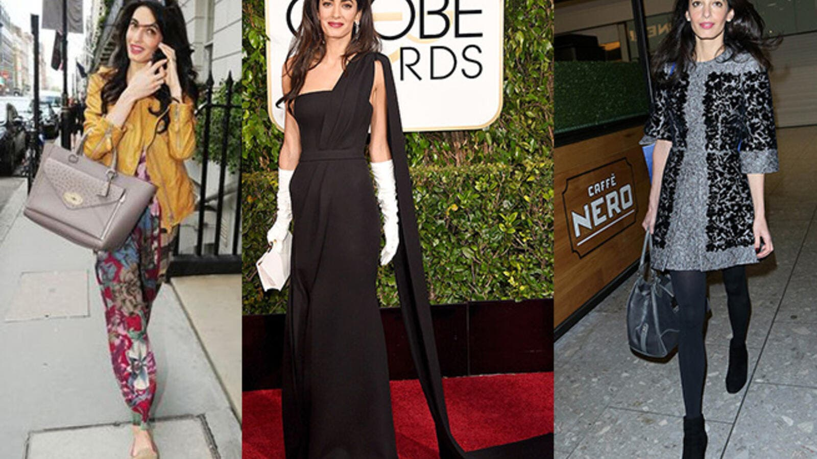 The ever-evolving (and enviable) style of Amal Clooney's