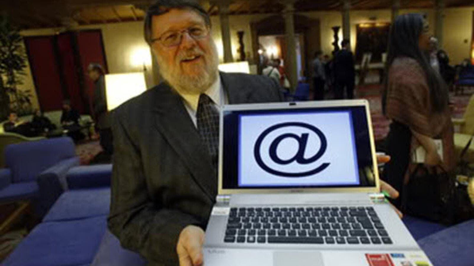 Ray Tomlinson is credited with the invention of email and chose the '@' symbol. (En.trend.az)