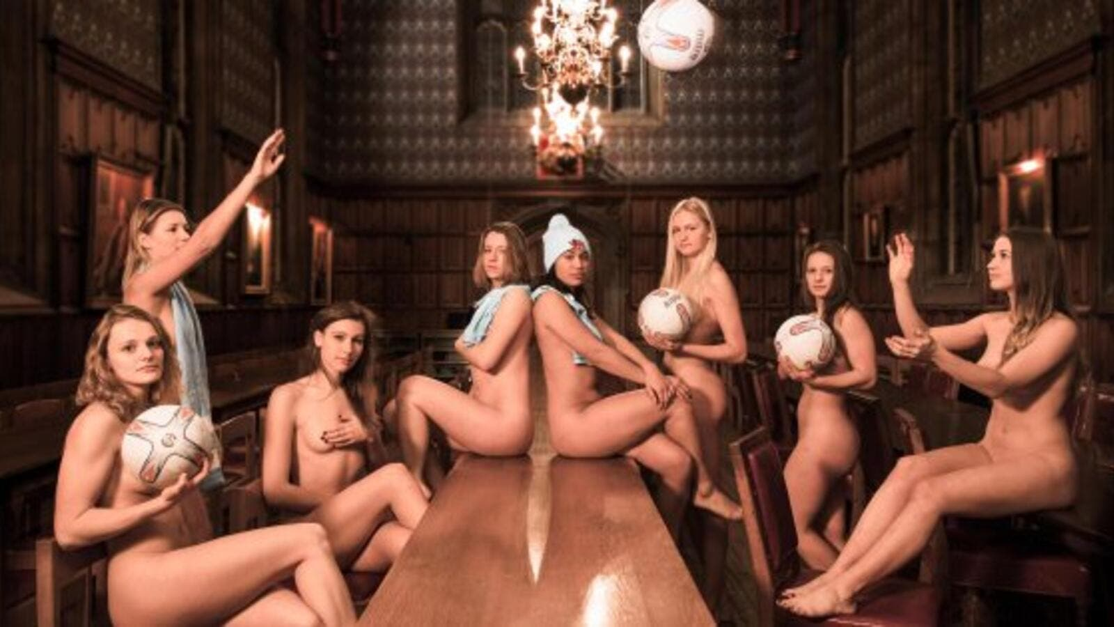 Cambridge Students Strip off for Naked Calendar, All for ...