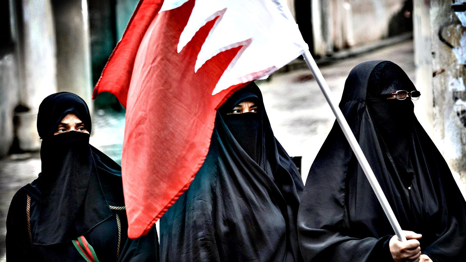 Using the Muslim sect to describe the actions of activists in Bahrain is problematic. (AFP/File)
