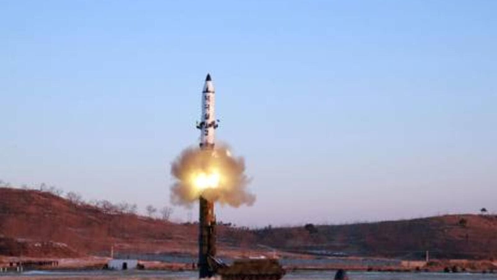 North Korea Launches Ballistic Missile into the Sea of Japan. (AFP File Photo)