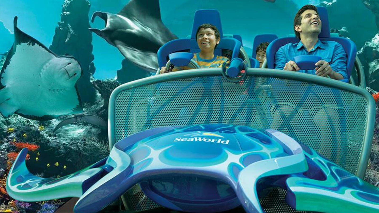 SeaWorld Abu Dhabi will be the company's first new park without orcas, and will integrate up-close animal experiences, mega attractions and an aquarium. (SeaWorld)