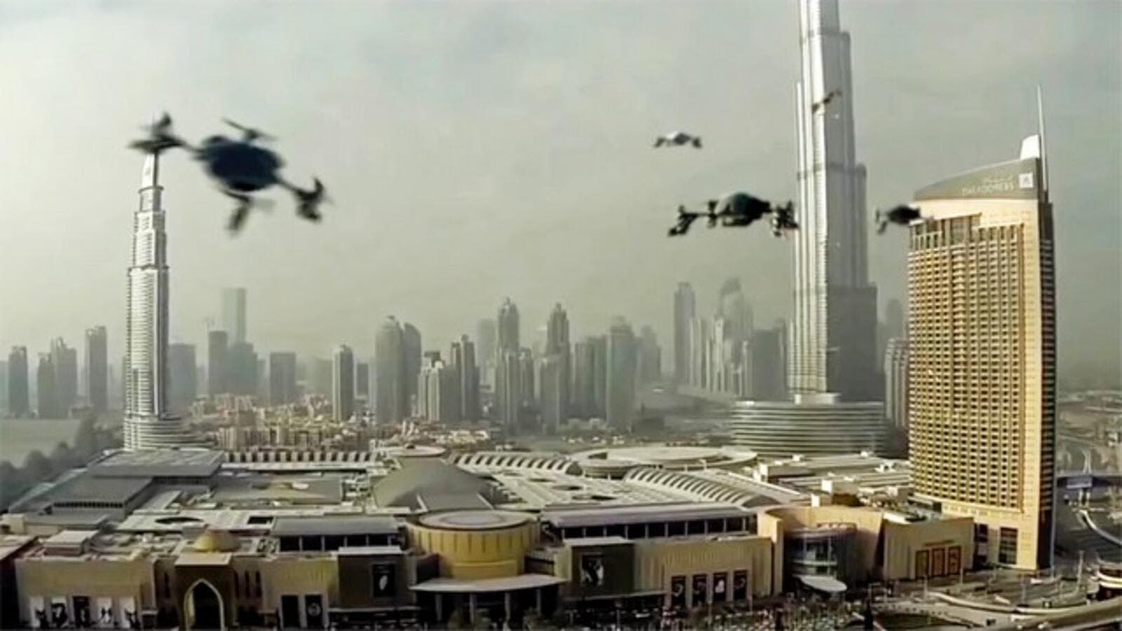 Dubai hosted the World Drone Prix on March 11, 2016. (Twitter)