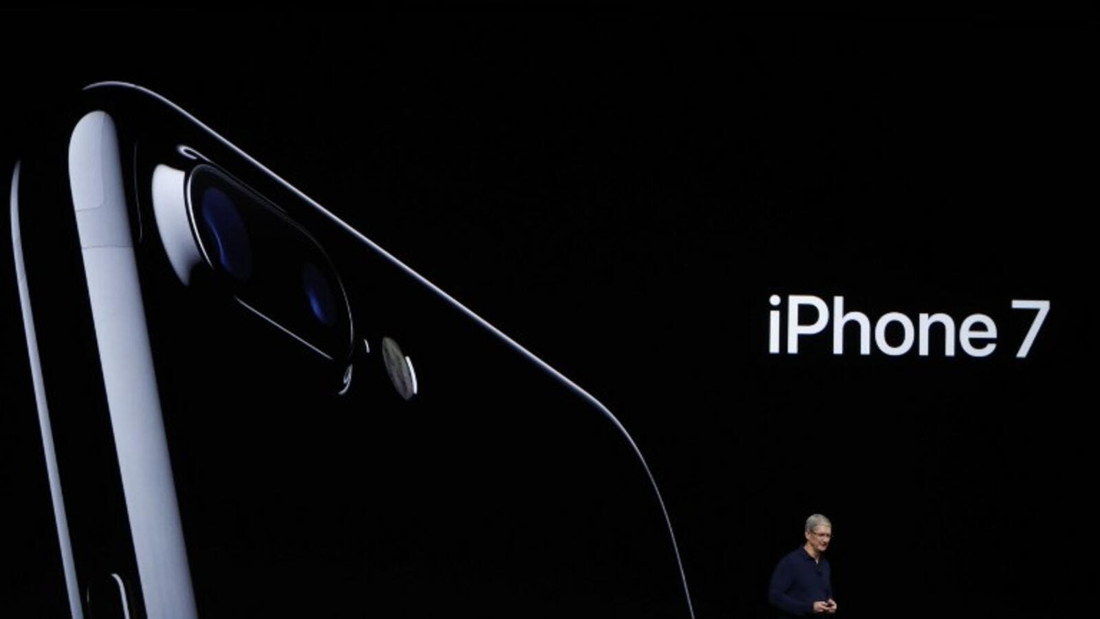 Apple Senior Vice President of Worldwide Marketing Phil Schiller at the iPhone 7 launch in San Francisco, California on September 07, 2016. (AFP/Josh Edelson)