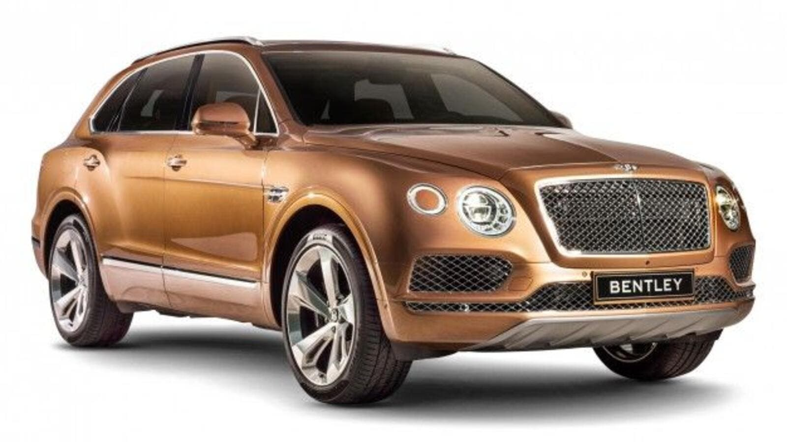 The UAE population is very small but its dealer tops the world for Bentley sales. The Bentley Bentayga 2017. (Pinterest)