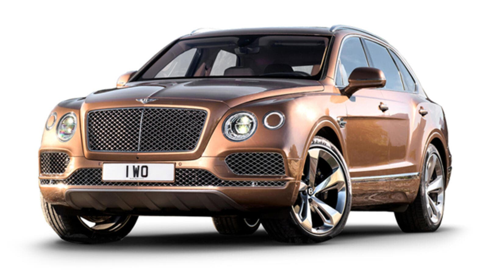 The Bentayga is Bentley's luxurious SUV offering, starting at $230,000 without any of the options.  (Car & Driver)