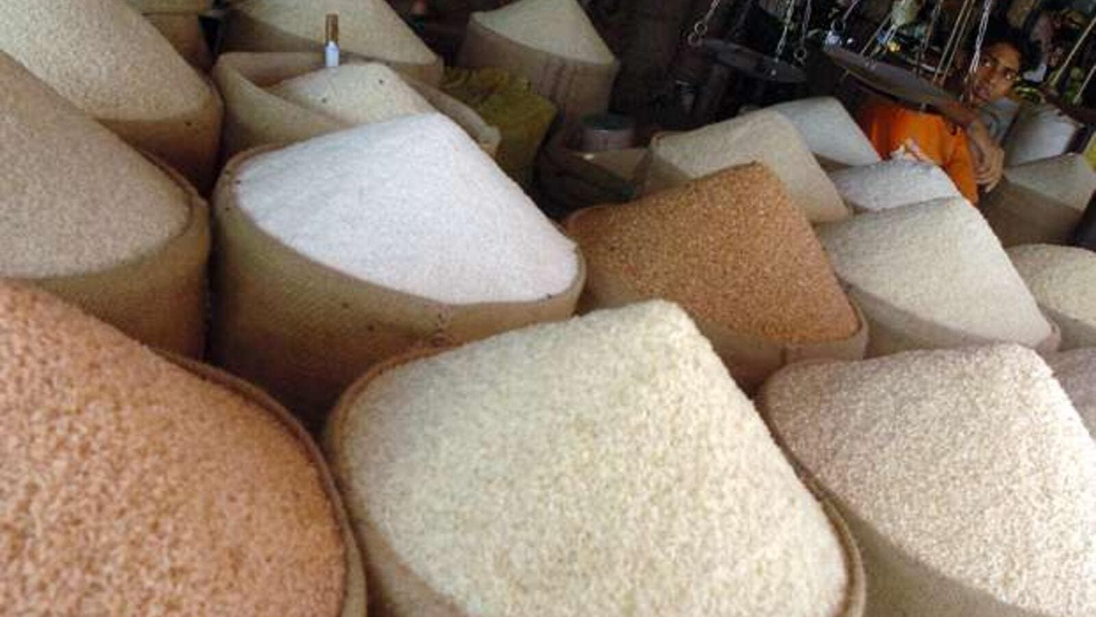 Mecca retailers have been accused of colluding to fix rice prices. (AFP/Farjana Khan Godhuly)