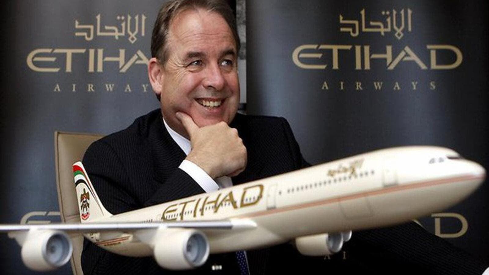 The Australian CEO oversaw rapid growth of Etihad Airways, including the development of seven airline equity partnerships. (File photo)