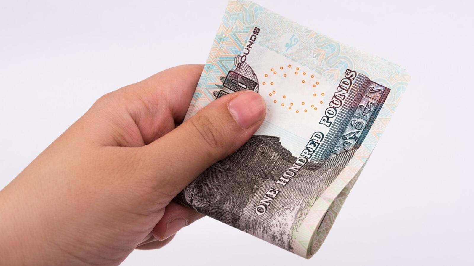 The Egyptian pound strengthened on Sunday to its highest in over two years. (Shutterstock)