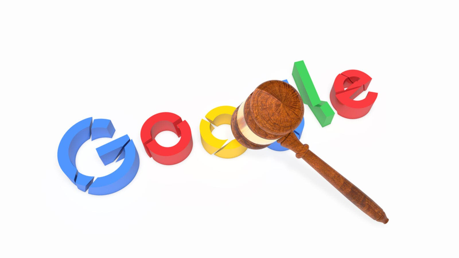 Google has abused its market dominance by imposing a number of restrictive clauses in contracts with third-party websites which prevented Google's rivals from placing their search adverts on these websites. (Shutterstock)