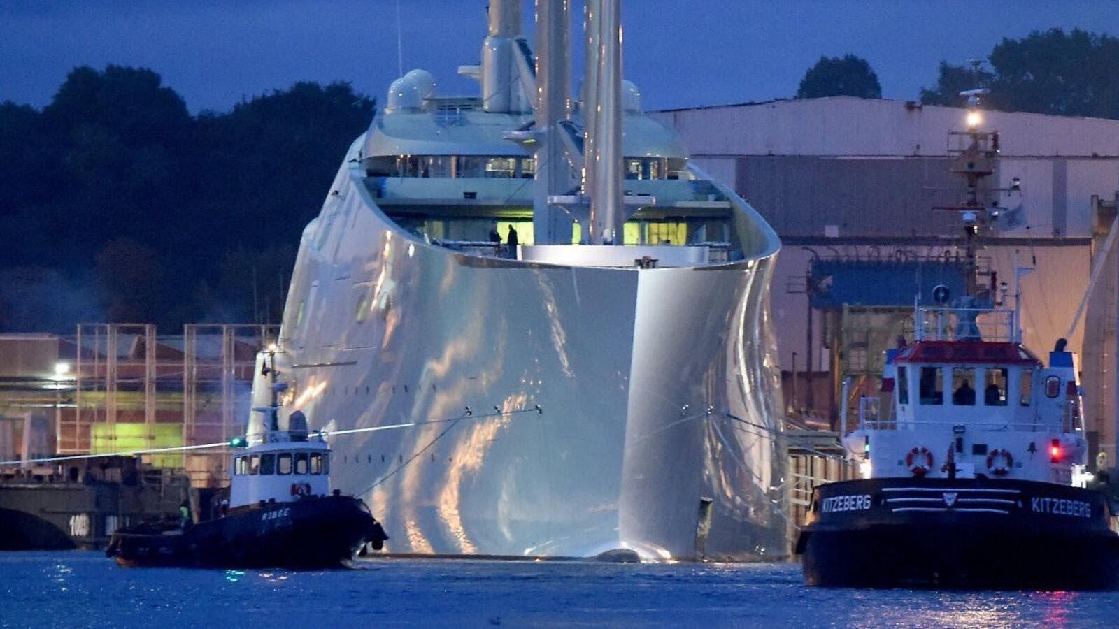 Sailing Yacht A >> Monaco Russian Billionaire Shows Off His Largest Sailing