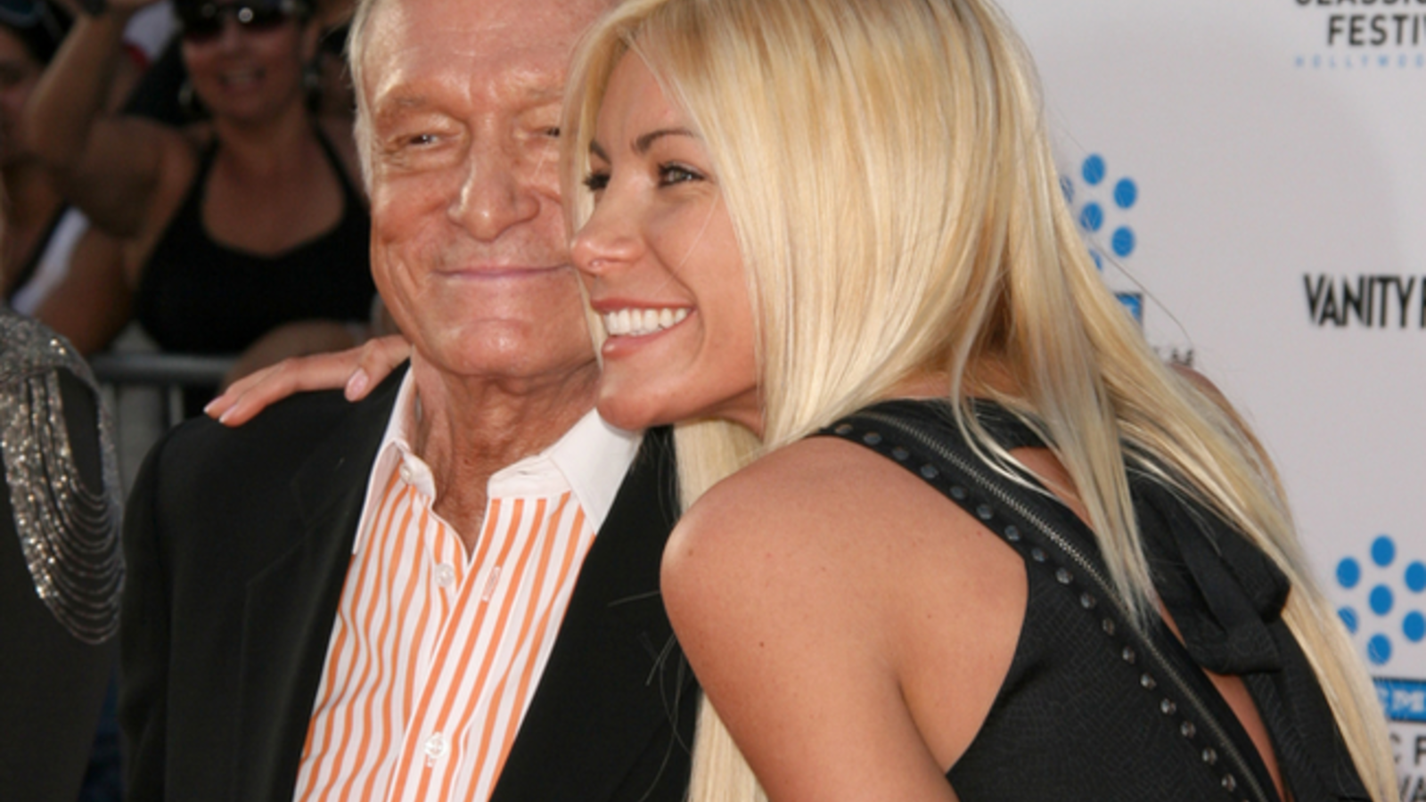 The widow of the Playboy magazine founder insists her spouse wasn't worried about getting physical in the time leading up to his passing (Source: Kathy Hutchins - Shutterstock)