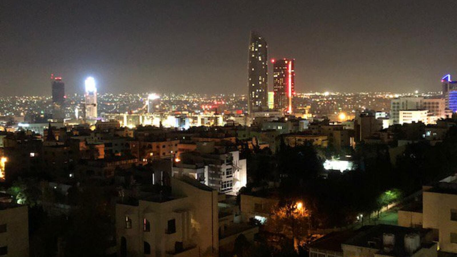 Amman city view (Twitter)