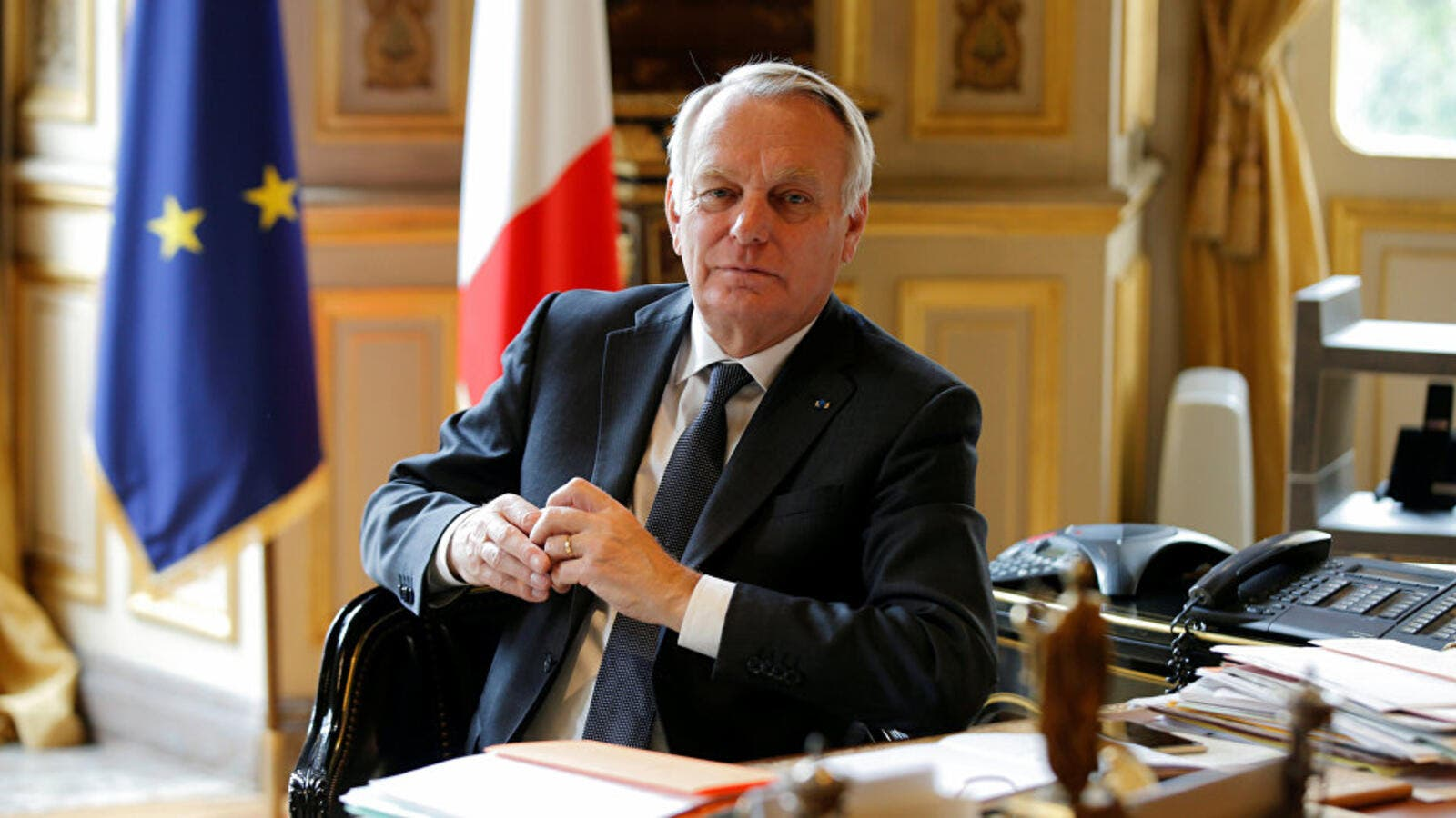 French Foreign Minister Jean-Marc Ayrault. (AFP/File)