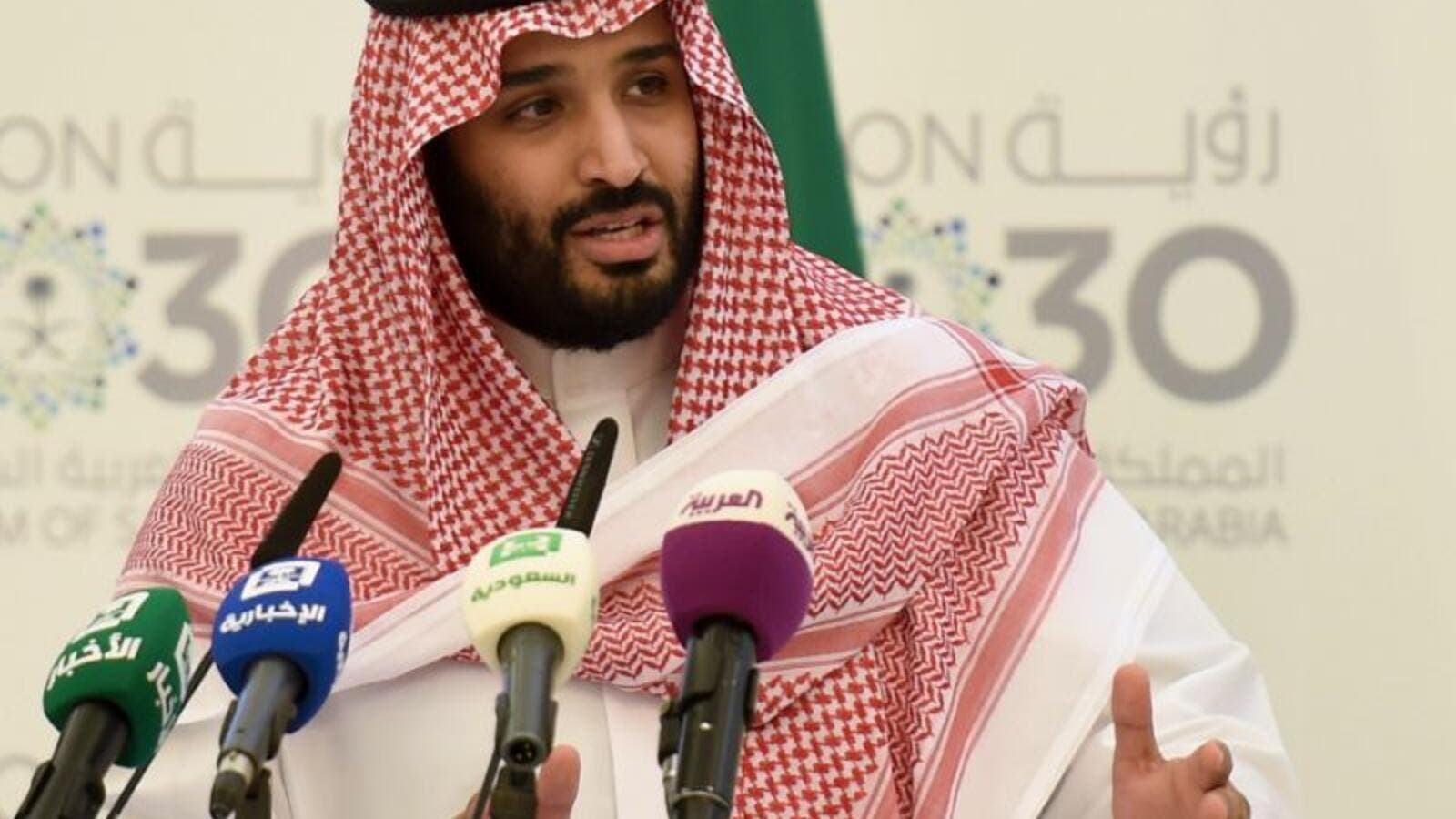 "Saudi Arabia's powerful Crown Prince called the Supreme Leader of Iran ""the new Hitler of the Middle East"" (AFP)"