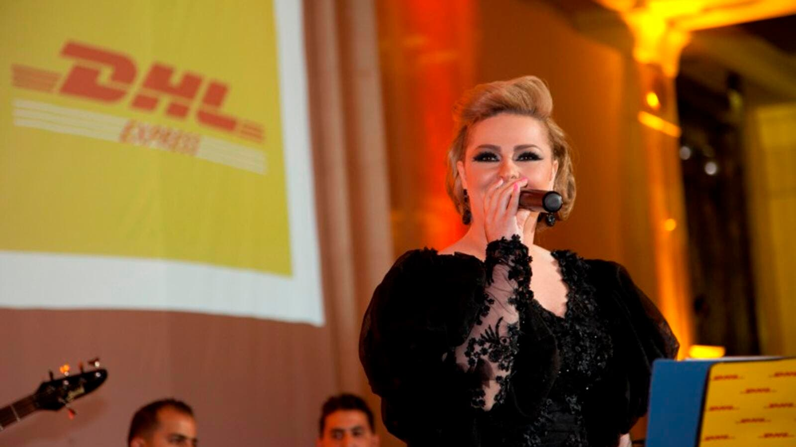 Karazon is most famous for being the sister of popular singer Diana (File)