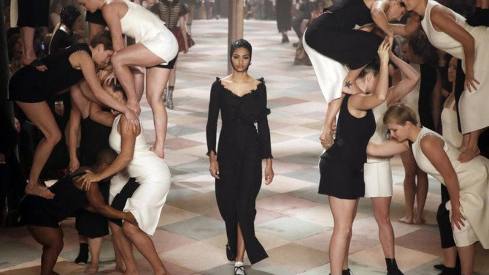 67eafd9704e Dior Reveals Spring Summer 2019 Collection Amid Circus Show