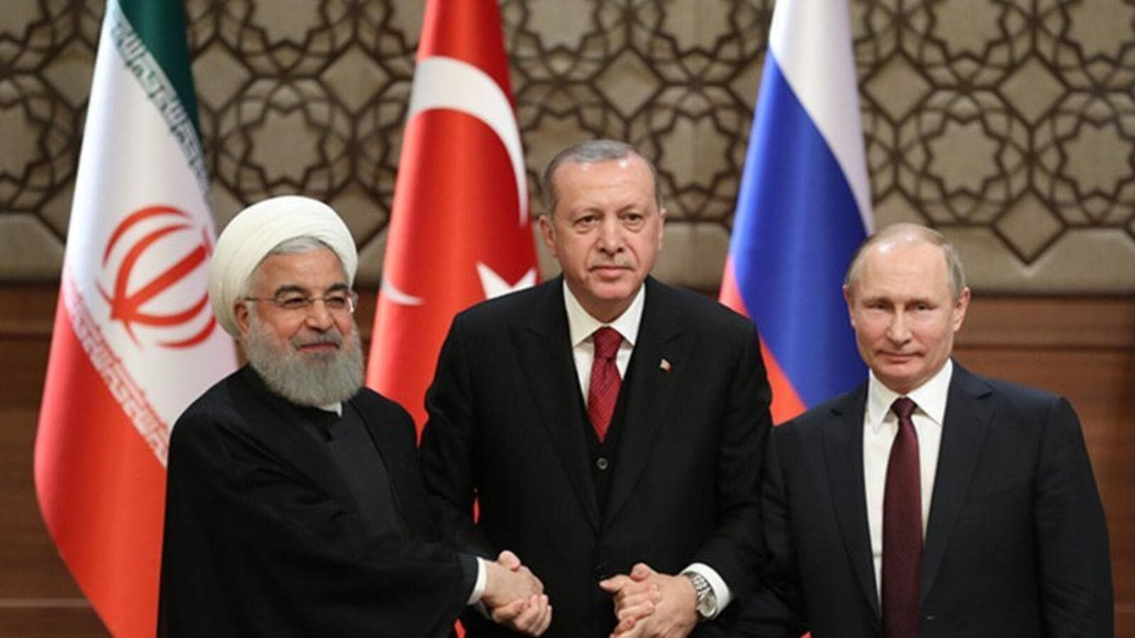 Russia, Turkey, Iran agree to continue joint efforts on facilitating work of Syria's constitutional committee (Twitter)