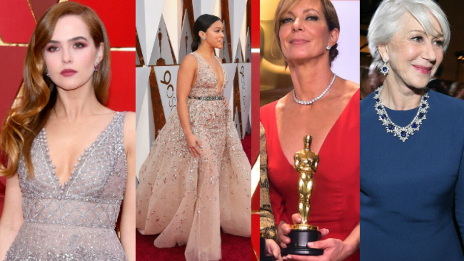 Hollywood's leading women turned to a host of Middle Eastern designers in order to dazzle on the film industry's biggest night, the Academy Awards, on Sunday night. (Source: AFP)