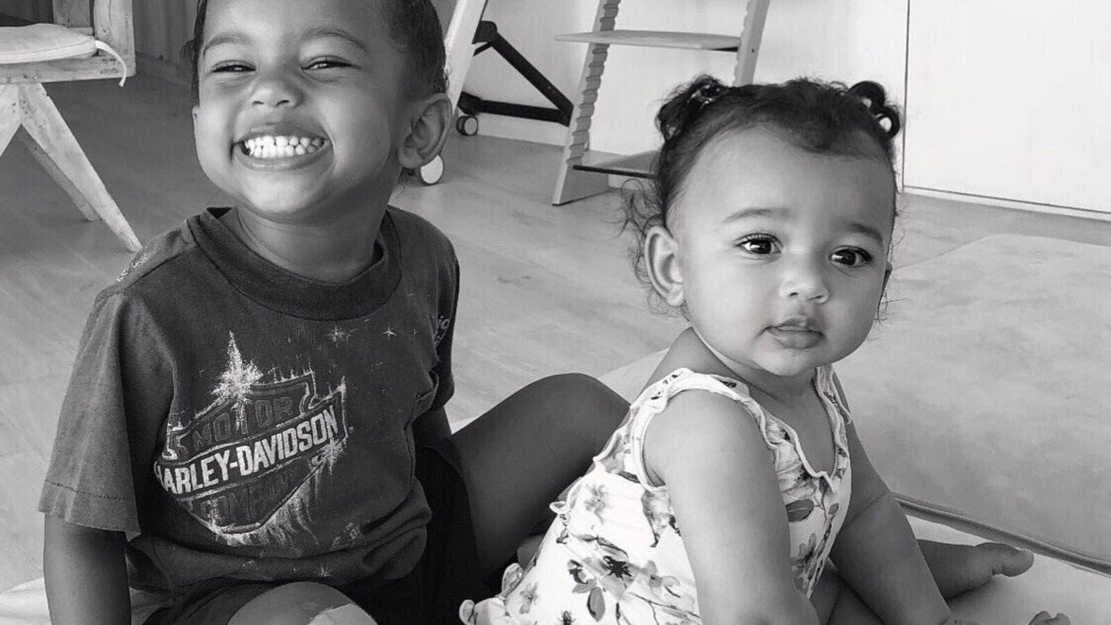 Kim Kardashian Youngest Daughter is Unbelievable Calm | Al