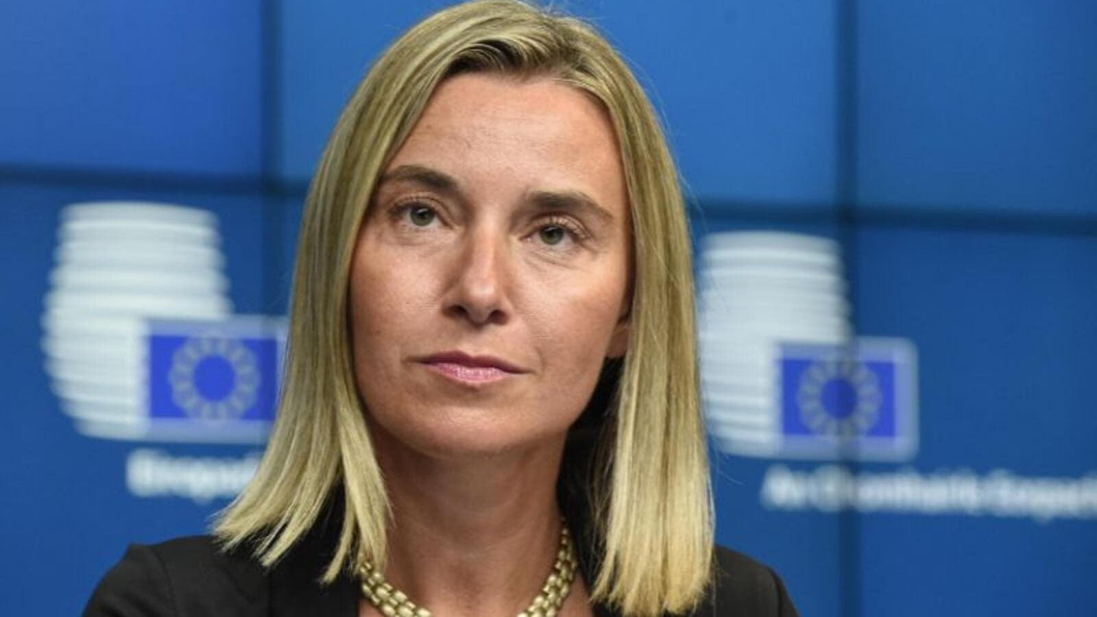 EU foreign policy chief Federica Mogherini. (AFP/File)