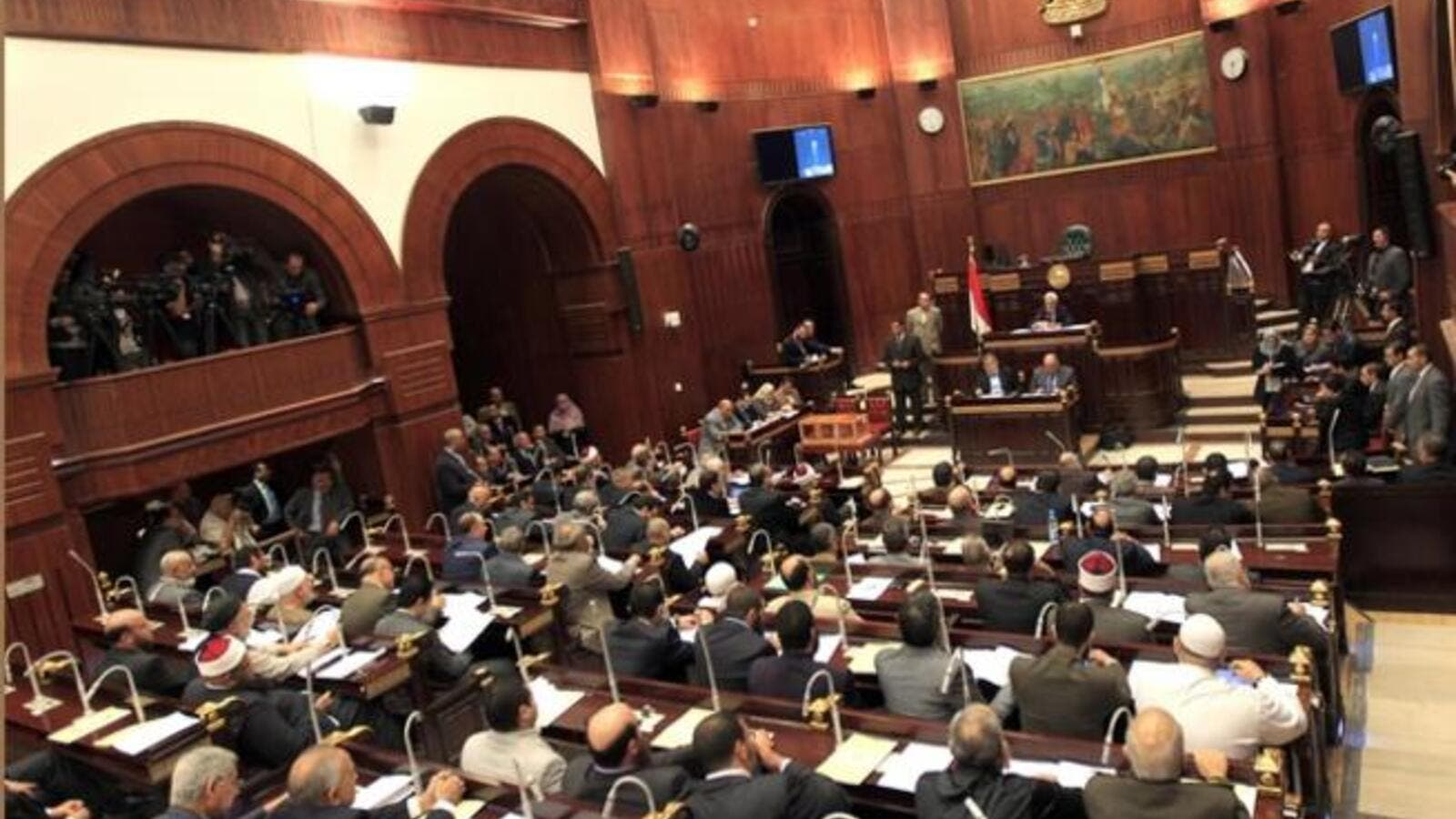 Members of Egypt's constitution committee will meet at the Shura Council for the final vote on a draft Egyptian constitution. [hrw.org]
