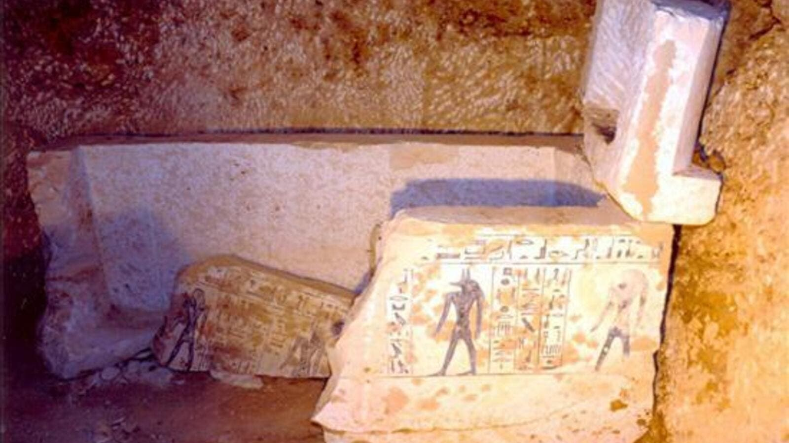Eight tombs containing 40 sarcophagi and roughly 1,000 figurines had been unearthed. (AFP/ File Photo)