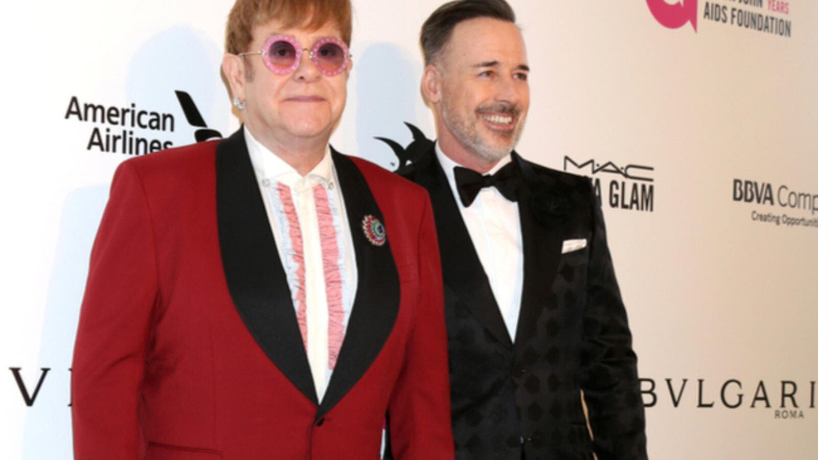 Elton received a beautiful bouquet of flowers and birthday cards from his children, which he shared on Instagram as well. (Source: Kathy Hutchins - Shutterstock)