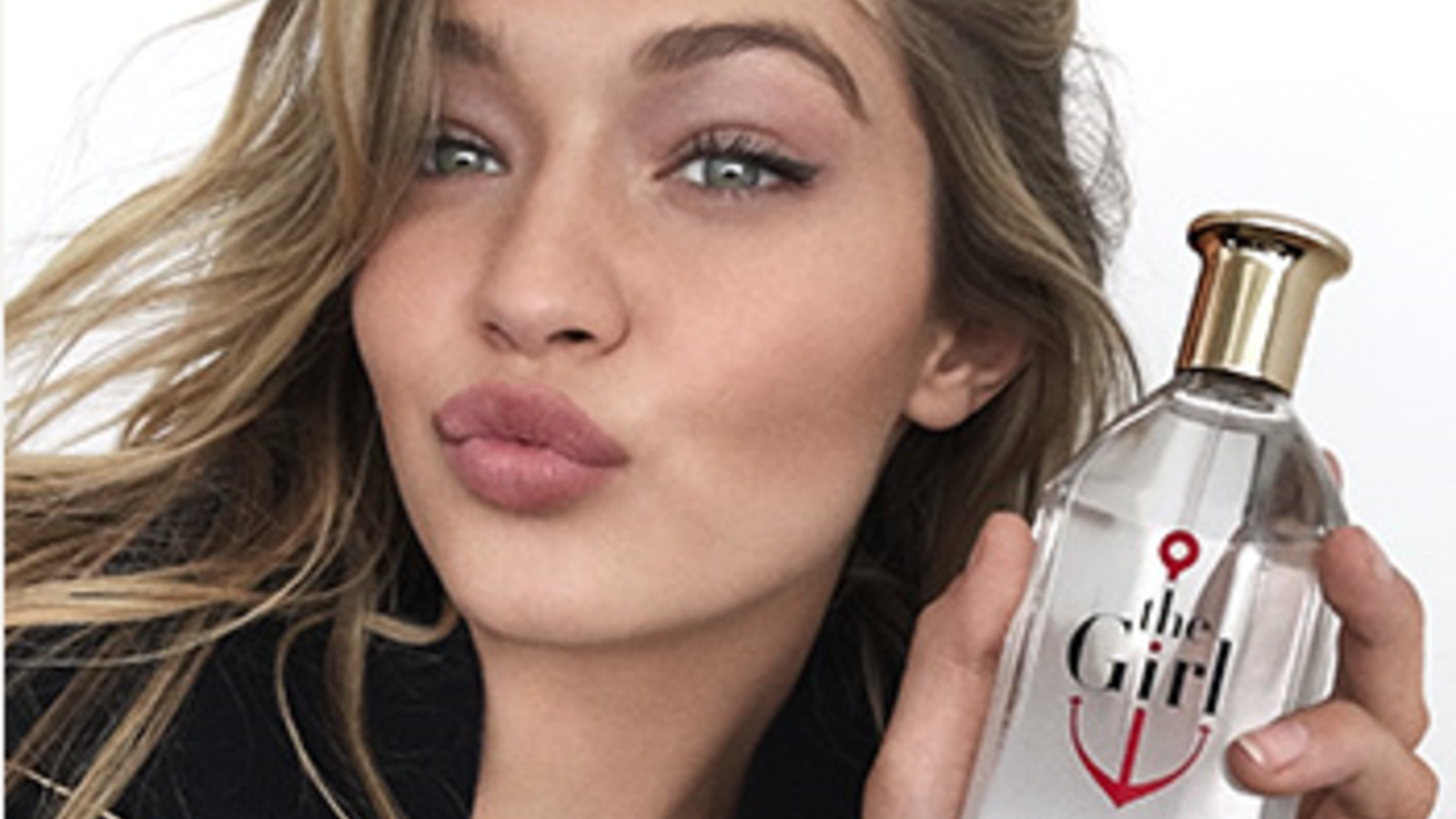 59c5a5accaf4ec Gigi Hadid perfects her pout as The Girl for Tommy Hilfiger! | Al Bawaba