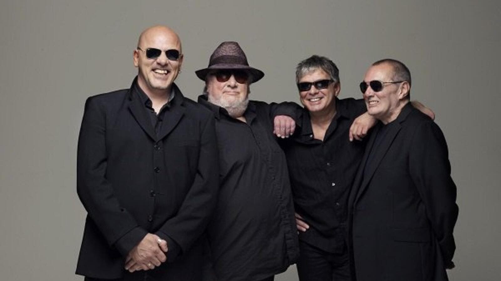 The Stranglers are members Jet Black, Jean-Jacques Burnel, Dave Greenfield and Baz Warne.  (Twitter)