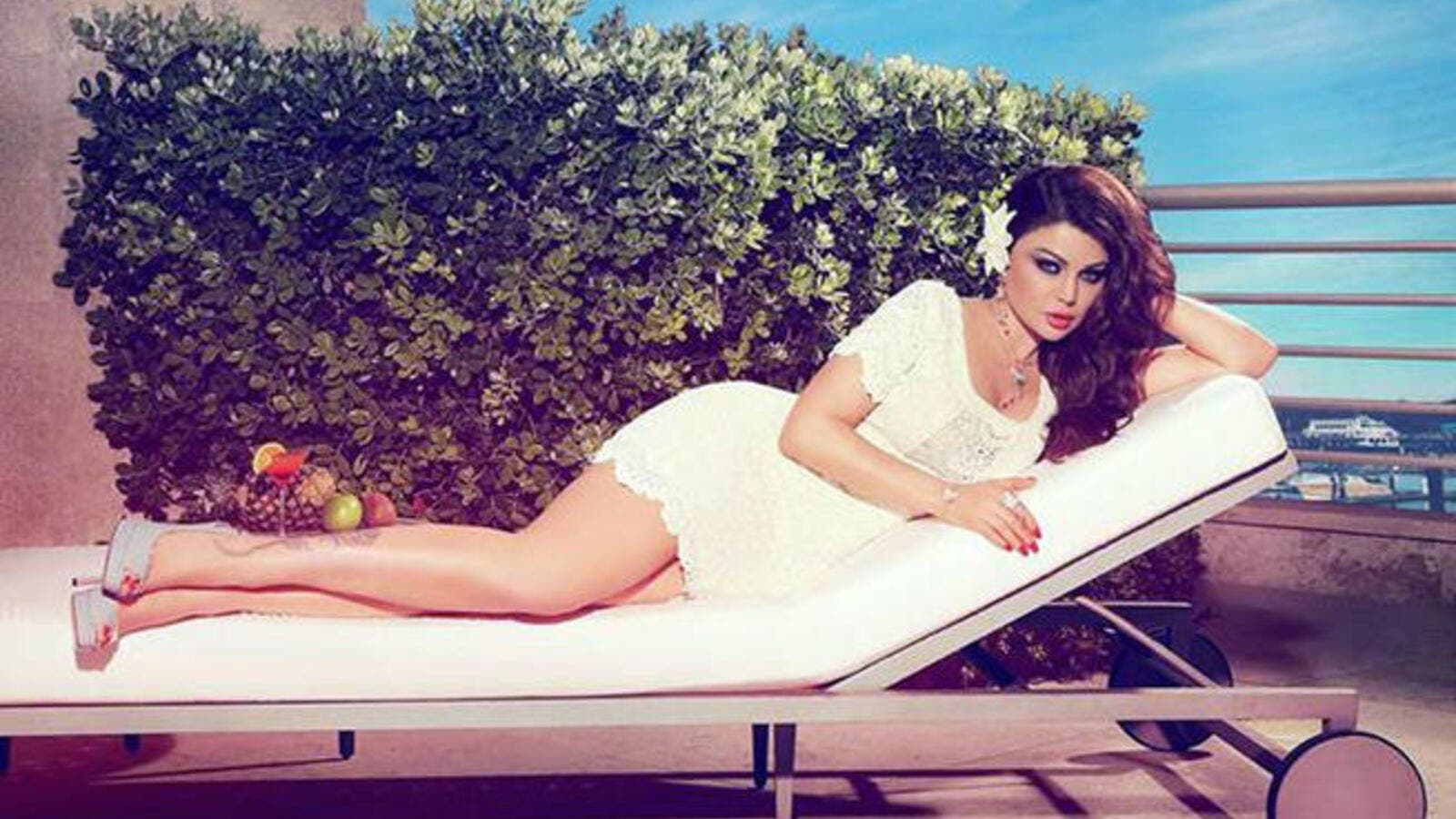 Wowzers! Sex bomb Haifa Wehbe makes it into list of