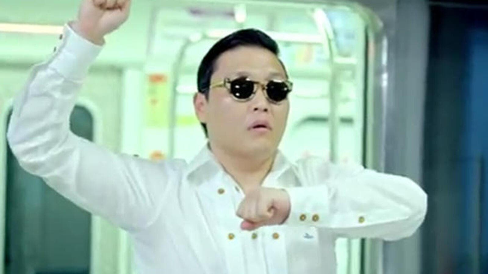 Gangnam style stormed the deserts of Arabia