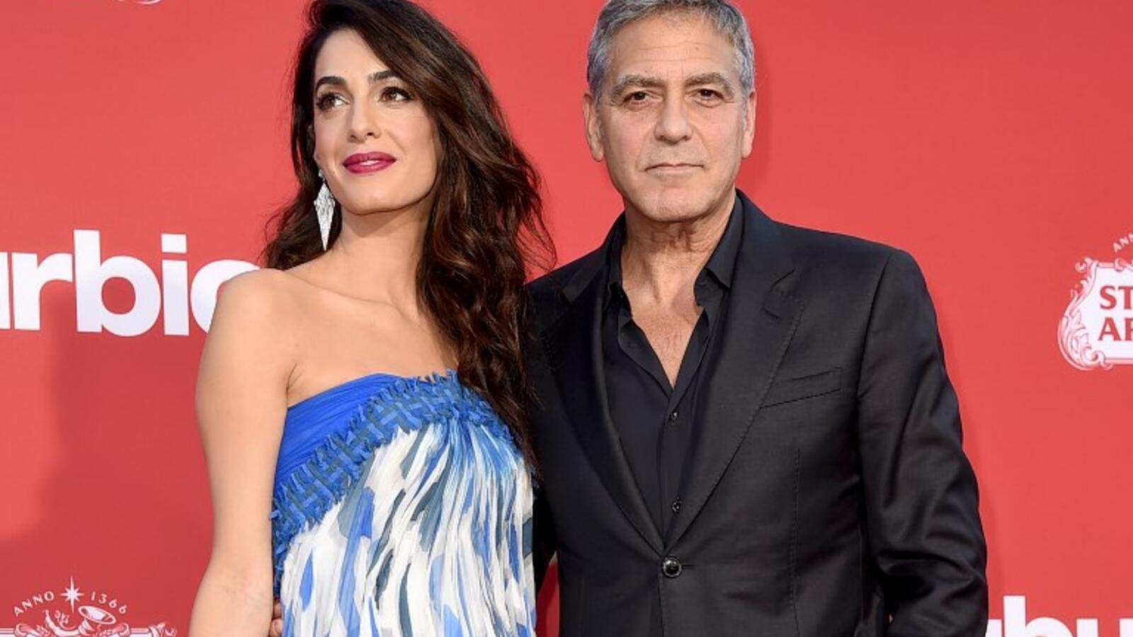 Amal and George Clooney. (KEVIN WINTER / GETTY IMAGES NORTH AMERICA / AFP)