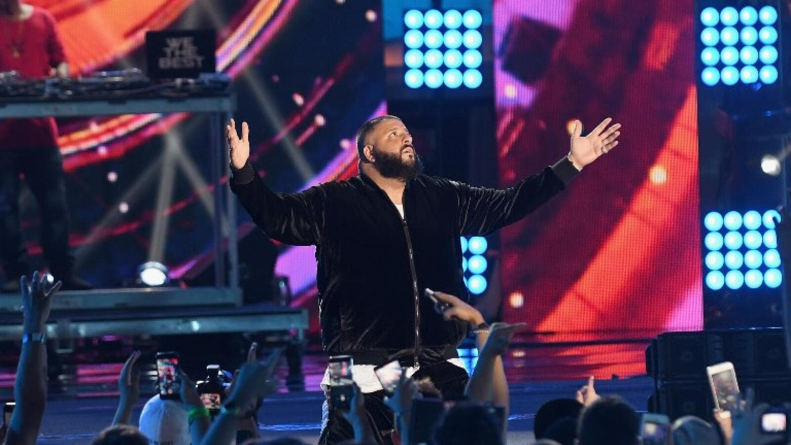 DJ Khaled at a show earlier this year. (DJ Khaled - Jason Koerner - GETTY IMAGES NORTH AMERICA - AFP)