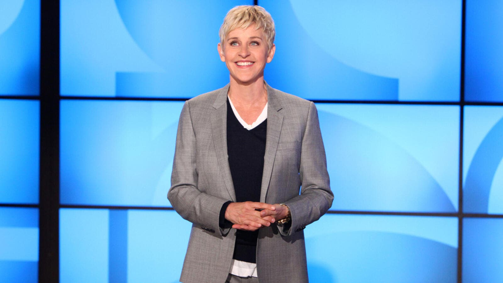 "Ellen DeGeneres on her hit show ""The Ellen DeGeneres Show"" (usually just ""Ellen""). (EllenTV)"