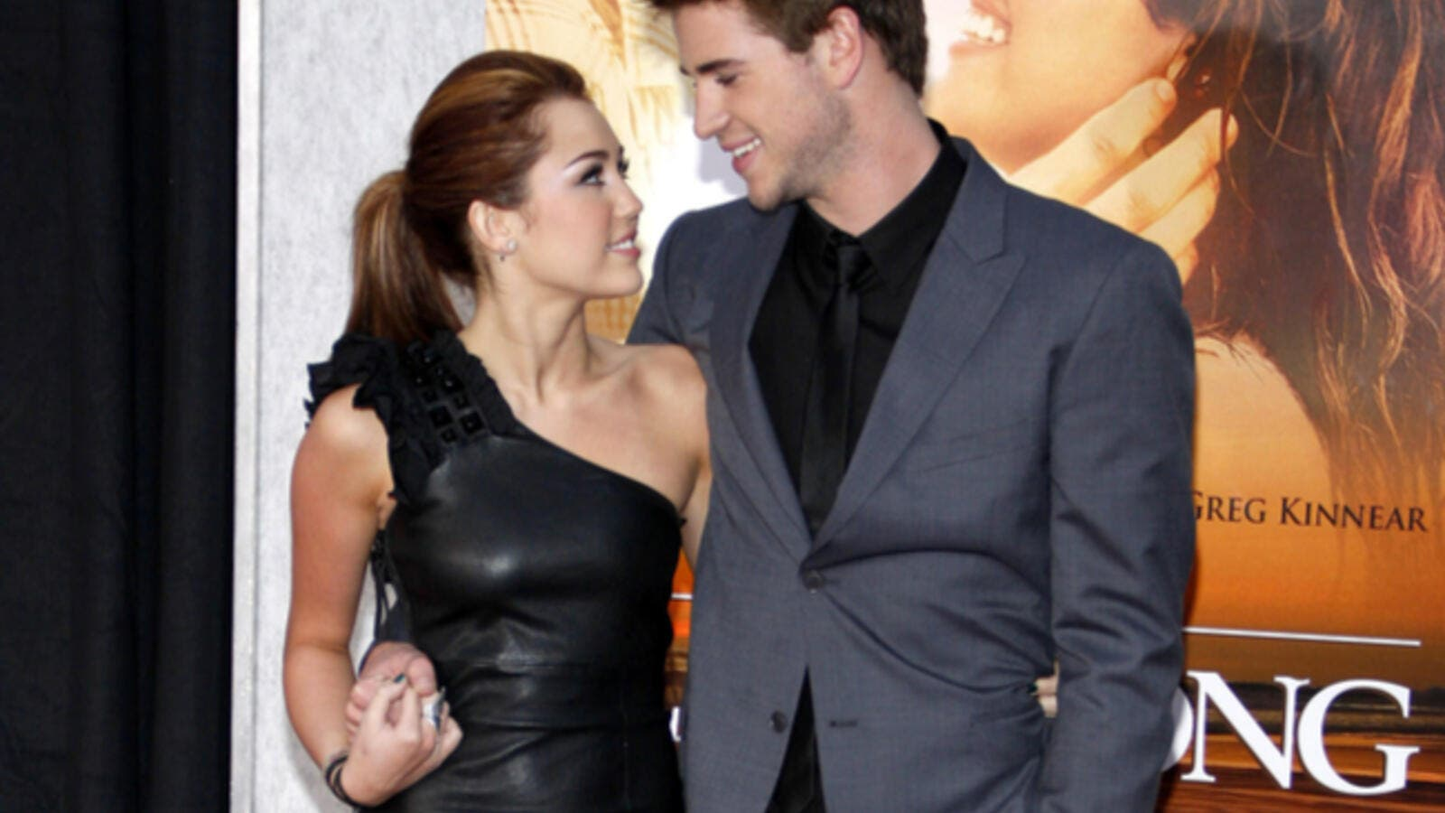 Miley and Liam started dating in 2009 after meeting on the set of 'Last Song' (Source: Tinseltown - Shutterstock)