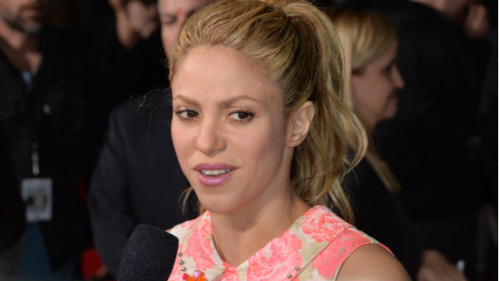 "Shakira says the unfortunate injury has made her realise that her vocals have a ""purpose"", and she is extremely thankful to her fans for supporting her. (Source: Jaguar PS - Shutterstock.)"