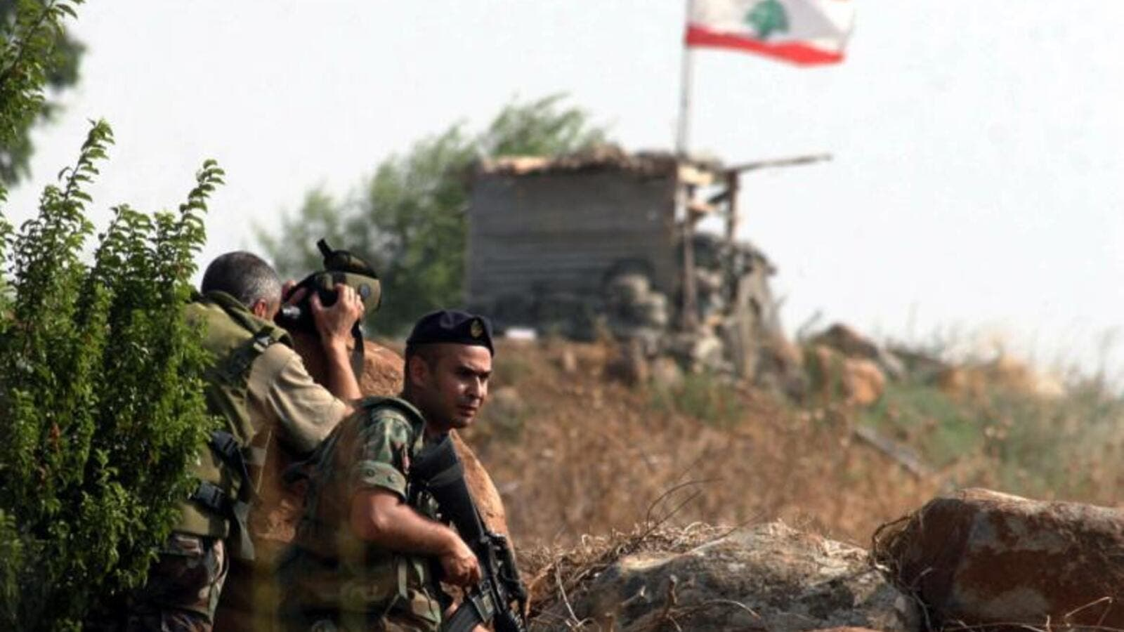 The incident also marked a rare appearance of Lebanese and Syrian officials with Syrian Interior Minister Maj. Gen. Mohammad al-Shaar attending. (AFP/File Photo)