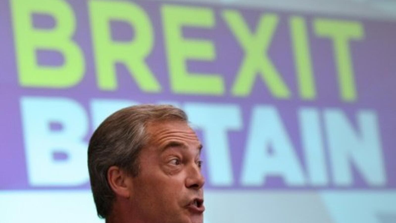 Former UKIP leader Nigel Farage (AFP/Alice Ritchie)
