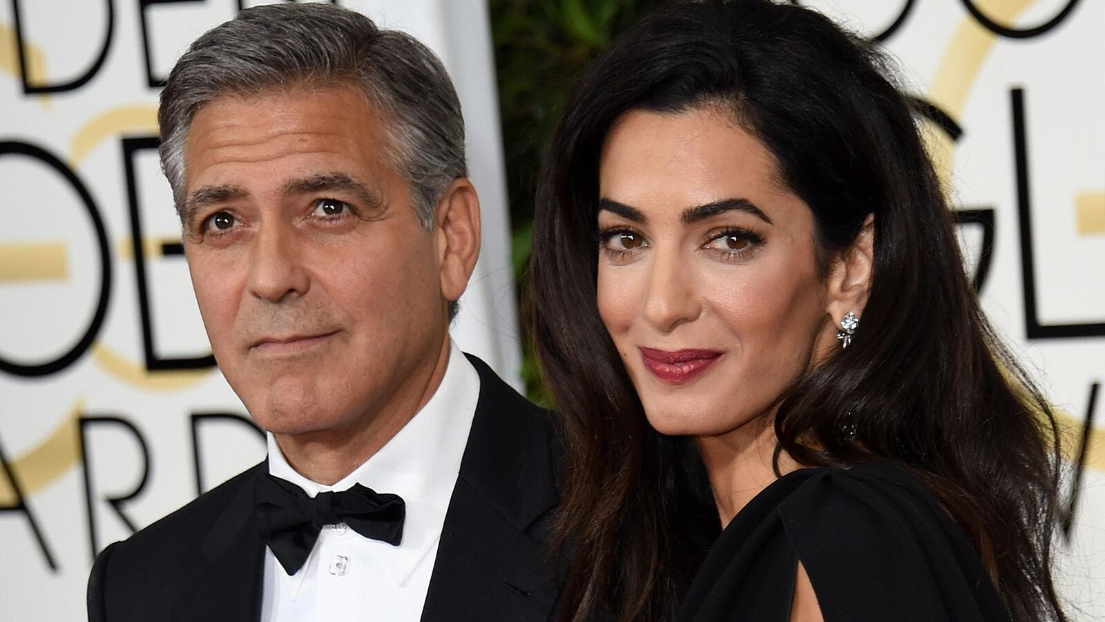 George Clooney isn't looking forward to hitting 60 in five years' time. (File photo)